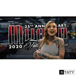 Milano Tattoo Convention 2020 | 25th Anniversary Edition | Killer Ink Tattoo